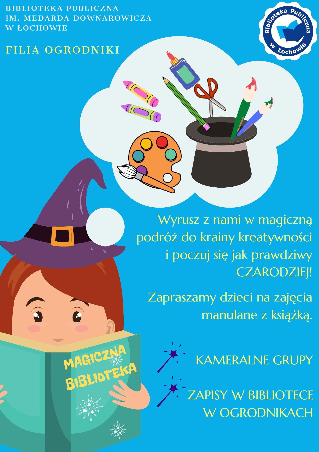Klub Przyjaciół Biblioteki w Ogrodnikach